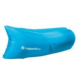 Dmuchana sofa inSPORTline Sofair materac fotel - Kolor Niebieski - sprawdź w wybranym sklepie