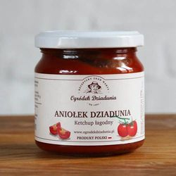 Aniołek dziadunia - keczup łagodny 200 g od producenta Ogródek dziadunia