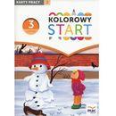 Kolorowy start. Trzylatek. Karty pracy cz.2 - Żaba - Żabińska Wiesława (2016)