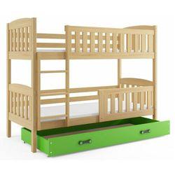Piętrowe łóżko dla dzieci z materacami 80x190 - Celinda 2X, 20219001205800100003519141