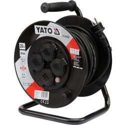 Przedłużacz YATO YT-81052 bębnowy 4 gniazda (20 metrów) (5906083810527)