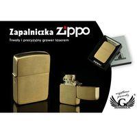 Zapalniczka ZIPPO 1941 Replica Brush Brass Vintaged