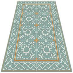 Modny uniwersalny dywan winylowy Modny uniwersalny dywan winylowy Vintage symetria