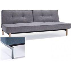 INNOVATION iStyle Sofa Splitback szarobeżowa 521 nogi chromowane - 741010521-741010-0-2, kup u jednego z partnerów
