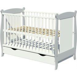 Piętrus łóżeczko drewniane laura z szufladą 120x60cm odbierz swój rabat tylko dzisiaj!