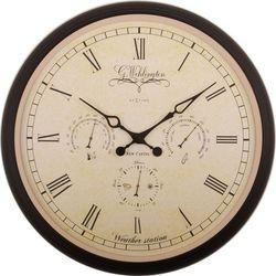 Zegar ścienny Wehlington Weather Station by Nextime, 2970
