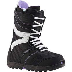 SNB damskie buty BURTON - Coco Black/Purple 026 (026) rozmiar: 36.5 z kategorii Buty do snowboardu