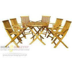 Hecht zestaw ogrodowy - stół + 6 stół basic set 6