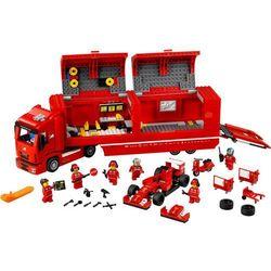 SPEED CHAMPIONS CIĘŻARÓWKA F14 T & SCUDERIA FERRARI 75913 marki Lego z kategorii: klocki dla dzieci