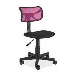 Fotel Q-014 fioletowo-czarny - ZADZWOŃ I ZŁAP RABAT DO -10%! TELEFON: 601-892-200, SM F Q014
