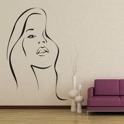 Wally - piękno dekoracji Szablon malarski kobieca twarz 1280
