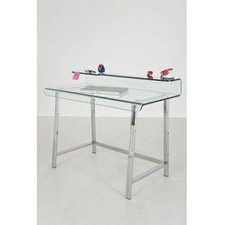 :: nowoczesne biurko visible clear - przezroczysty marki Kare design