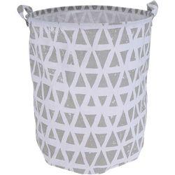 Torba na pranie, pojemny kosz, brezentowa torba na zabawki (8719202624915)