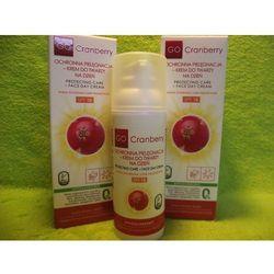 NOVA Kosmetyki- Ochronna Pielęgnacja – Krem do twarzy na dzień SPF 10 GoCranberry 50 ml