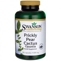 Opuncja (Prickly Pear Cactus) 650mg 180kaps, produkt z kategorii- Pozostałe środki na odchudzanie