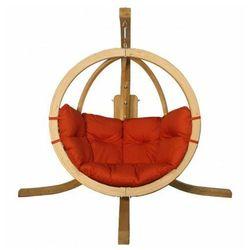 Okrągły fotel ogrodowy terracotta - Parys 2X, O-Zone