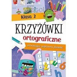 KRZYZOWKI ORTOGRAFICZNE KL.2-AKSJOMAT, książka w oprawie broszurowej