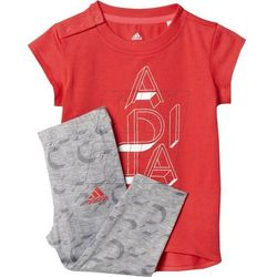 Komplet  mini me girls set kids ay6014 wyprodukowany przez Adidas