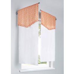"""Ozdoba okienna """"Morze kwiatów"""" (1 szt.) bonprix pomarańczowo-biały, kolor pomarańczowy"""