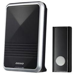 Dzwonek bezprzewodowy bateryjny CALYPSO czarny OR-DB-QS-112 ORNO, OR-DB-QS-112