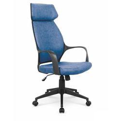 Fotel gabinetowy obrotowy HALMAR PHOTON - niebieski, Halmar