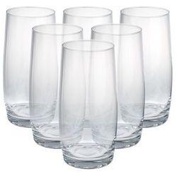 Krosno blended szklanki do napojów 350 ml 6 sztuk marki Krosno / casual blended