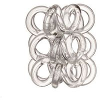 Invisibobble Nano Hair Ring 3szt W Gumka do włosów Crystal Clear