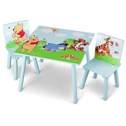 Delta kubuś puchatek stolik z krzesełkami dla dzie