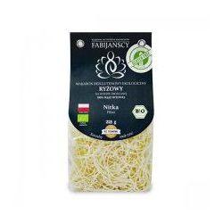 Makaron (z ryżu białego) nitka filini bezglutenowy BIO 225g