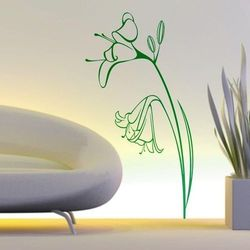 szablon malarski kwiaty 0984
