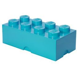 storage brick 8 - medium azur marki Lego