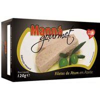 Portugalskie filety z tuńczyka w oliwie 120g Manná GOURMET