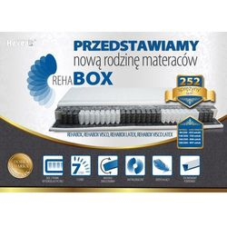 Materac kieszeniowy HEVEA REHABOX 180x200 - produkt dostępny w Bemondi.pl