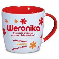 Nekupto, Weronika, kubek ceramiczny imienny, 330 ml