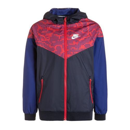 Nike Performance WINDRUNNER Kurtka sportowa obsidian/deep royal blue/university red (kurtka dziecięca)