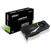 Karta VGA MSI GTX1080 AERO 8G OC 8GB GDDR5X 256bit DVI+HDMI+3xDP PCIe3.0, towar z kategorii: Karty gra