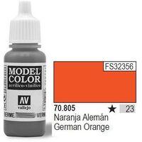 Vallejo Farba Nr23 German Orange 17ml - produkt z kategorii- Farby modelarskie