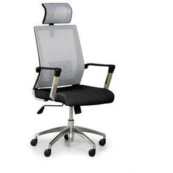 B2b partner Krzesło biurowe elite net, szary/czarny