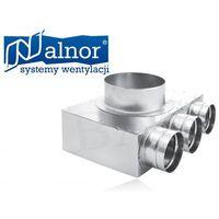 Alnor Puszka rozdzielcza mufowa 3x75mm/125mm (flx-pro-75-3-f)