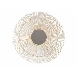 Vente-unique Bambusowe lustro w kształcie słońca olly - śred. 80 cm - kolor naturalny