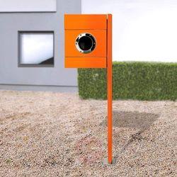Stojąca skrzynka na listy LETTERMAN II, pomarańcz. (4250208615483)