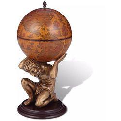 Vidaxl Globobar ze wspornikiem w formie atlasa, 42 x 42 x 85 cm,