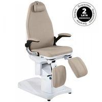 Fotel podologiczny elektr. azzurro 709a 3 siln. cappuccino marki Vanity_a