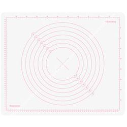 Stolnica silikonowa z podziałką - 55x45 cm |  delicia deco - odcienie bieli, marki Tescoma