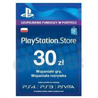Sony  playstation network 30 zł [kod aktywacyjny] (0000006200209)