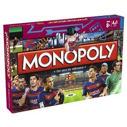 Monopoly FC Barcelona wersja polska z kategorii Gry planszowe