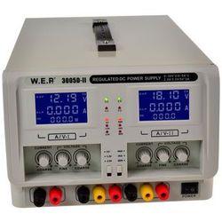 Zasilacz WEP potrójny 3005D-II 2x30V5A+5V3A, towar z kategorii: Transformatory