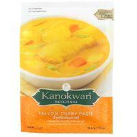 50g pasta curry żółta | darmowa dostawa od 150 zł!, marki Kanokwan