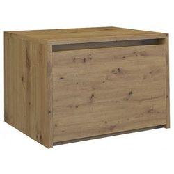 Producent: elior Loftowa szafka nocna reja - dąb artisan