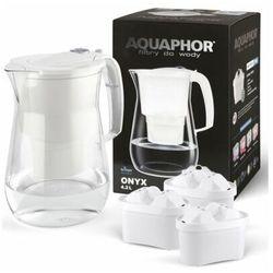 Dzbanek filtrujący AQUAPHOR Onyx Biały + 3 wkłady B100-25 Maxfor Mg